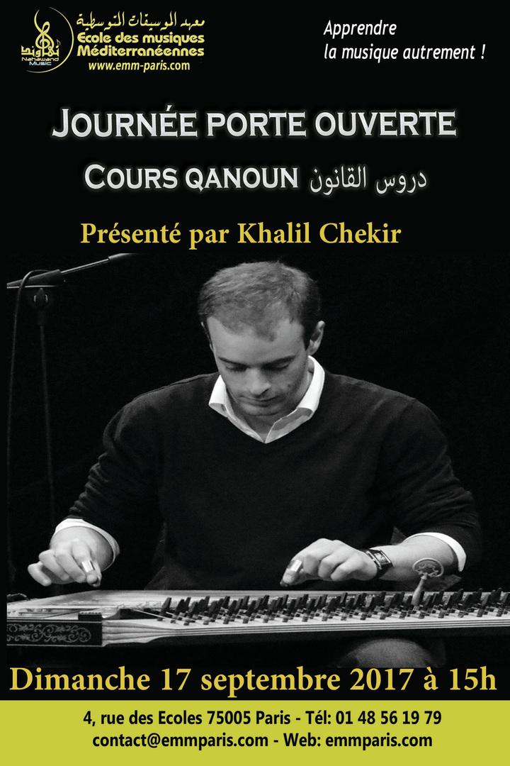 cours de musique arabe, cours de musique méditerranéennes